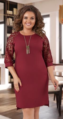 Нарядное  платье с красивыми рукавами № 36723