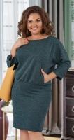Свободное платье с карманчиками № 37721