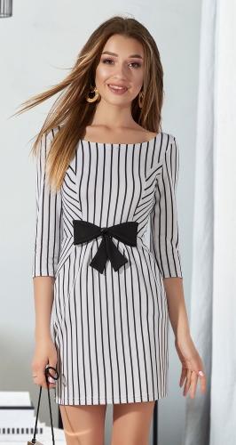 Платье в полоску № 3293