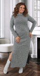 Длинное платье из ангоры № 40651