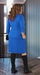 Плиссированное  платье № 17401
