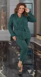 Трикотажный брючный костюм № 4100