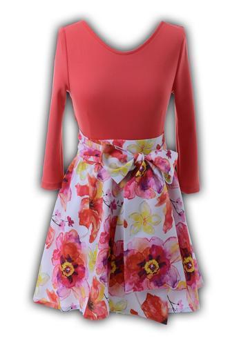 Платье № 1238 цветы (розница 539 грн.)