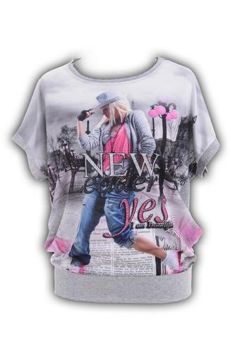 Блуза  № 4292N розовая (розница 464 грн.)