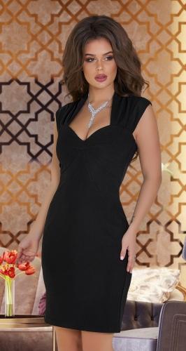 Красивое чёрное платье № 3919