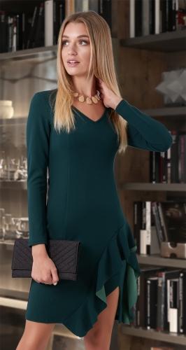 Платье с высоким разрезом № 3790