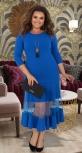 Эффектное платье МИДИ № 34331