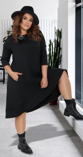 Свободное платье МИДИ № 38021
