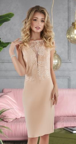 Маленькое нежное платье № 4049