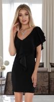 Вечернее платье № 3643  ,чёрное