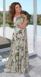 Платье MAXI с открытыми плечиками № 3967