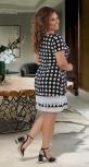 Лёгкое платье с кружевом № 31341 ,чёрное