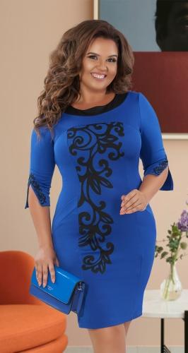 Нарядное облегающее платье № 1107