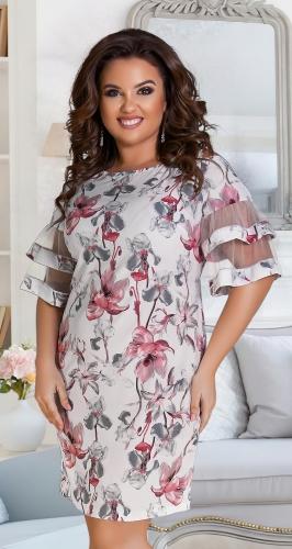 Лёгкое нарядное платье 39641