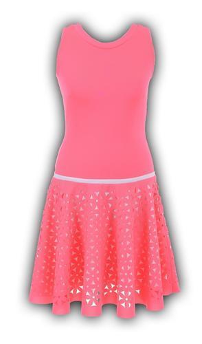 Платье неон розовое № 12702N (розница 507 грн.)