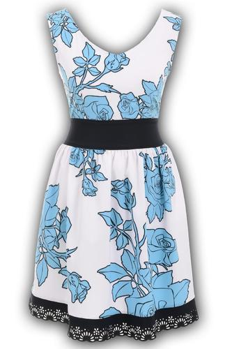 Платье № 10051N белое (розница 523 грн.)