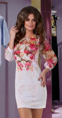 Нежное платье № 771