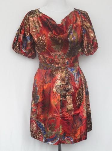 Платье-туника тонкий атлас № 221N (розница 356 грн.)