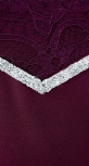 Нежное нарядное платье,марсала