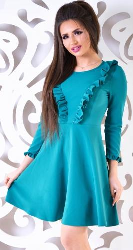 Платье № 1704N зеленый (розница 485 грн.)