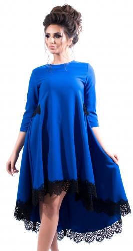 Платье № 3514SN электрик