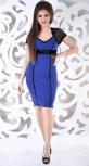 Платье № 327 синее