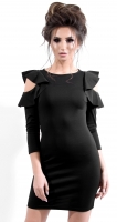 Платье № 3263SN черный (розница 480 грн./490 грн.)