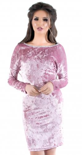 Платье № 1717N розовое