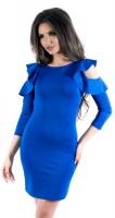 Платье № 3263SN электрик (розница 480 грн./490 грн.)