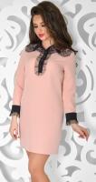 Платье № 3650N пудра