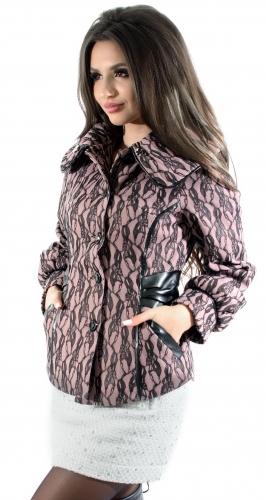 Пальто № 601N розовое (розница 464 грн.)