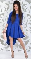 Платье № 3538SN ,ярко синее