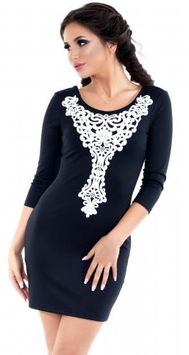 Платье № 31992SN черный