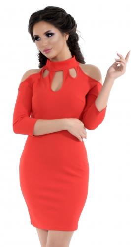 Платье № 1443N красное (розница 470 грн.)