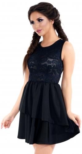 Платье № 1492N черное