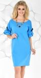 Платье № 3651 голубой
