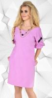 Платье № 3651 розовый