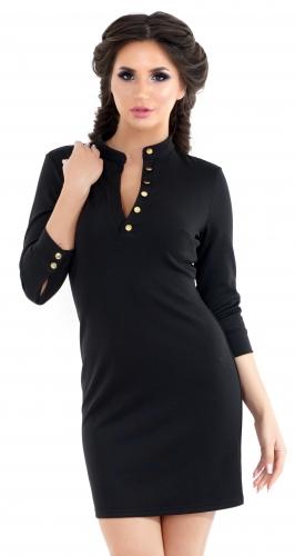 Платье № 3275SN черное