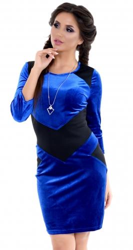 Платье № 1467N электрик (розница 460 грн.)