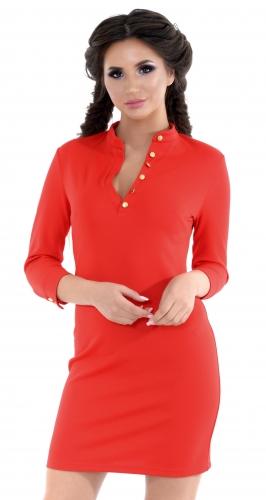 Платье № 3275SN красный