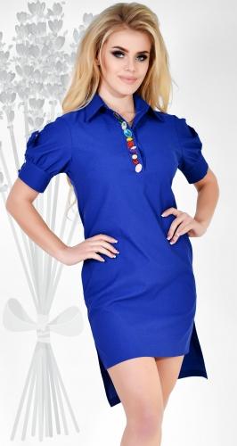 Платье № 3106SN электрик