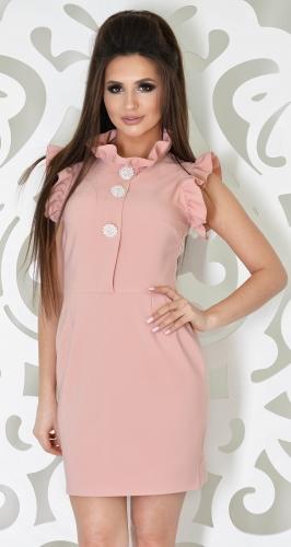 Платье № 3609SN пудра (розница 610 грн.)