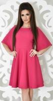 Платье № 3587N малиновое
