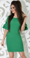 Платье № 3610S свежая листва