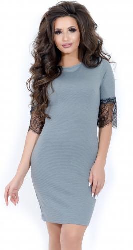 Платье № 1664 меланж (розница 466 грн.)