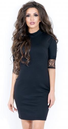 Платье № 1664N черный (розница 466 грн.)