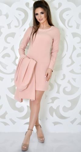 Платье № 3599N пудра (розница 500 грн.)