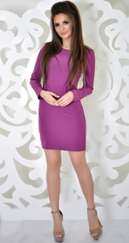 Платье № 3599N фиолет (розница 500 грн.)