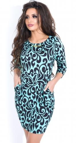 Платье № 1163 минт