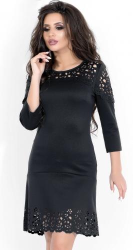Платье № 3247SN черный (розница 490 грн.)